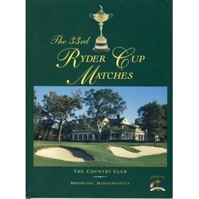 RYDER CUP 1999 (BROOKLINE) SOUVENIR PROGRAMME - SIGNED BY HARRINGTON