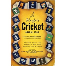 PLAYFAIR CRICKET ANNUAL 1960