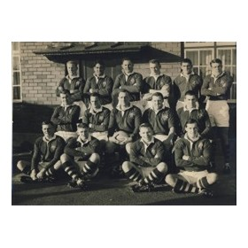 AUSTRALIA (V NEWPORT) 1957-58 RUGBY PHOTOGRAPH