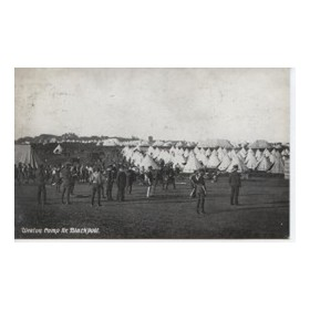 WARTIME CRICKET MATCH (WEETON CAMP, BLACKPOOL)