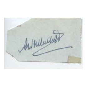 ANTHONY MALLETT CRICKET AUTOGRAPH