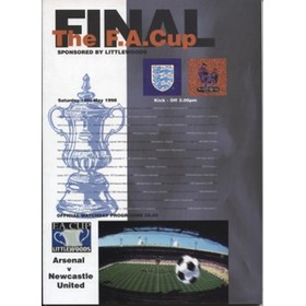ARSENAL V NEWCASTLE UNITED 1998 (F.A. CUP FINAL) FOOTBALL PROGRAMME