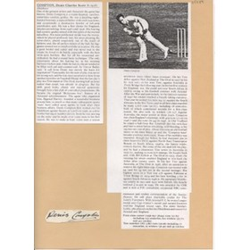 DENIS COMPTON (MIDDLESEX & ENGLAND)