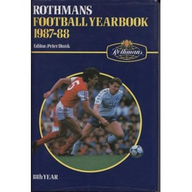 ROTHMANS FOOTBALL YEARBOOK 1987-88 HARDBACK