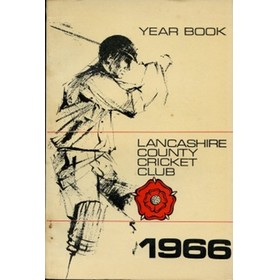 OFFICIAL HANDBOOK OF THE LANCASHIRE COUNTY CRICKET CLUB 1966