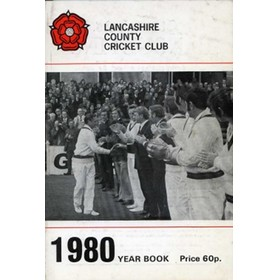 OFFICIAL HANDBOOK OF THE LANCASHIRE COUNTY CRICKET CLUB 1980