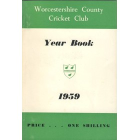 WORCESTERSHIRE COUNTY CRICKET CLUB YEAR BOOK 1959
