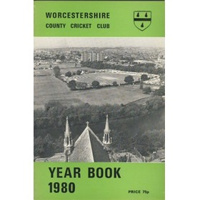 WORCESTERSHIRE COUNTY CRICKET CLUB YEAR BOOK 1980