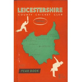 LEICESTERSHIRE COUNTY CRICKET CLUB 1957 YEARBOOK