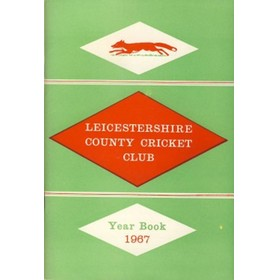 LEICESTERSHIRE COUNTY CRICKET CLUB 1967 YEAR BOOK
