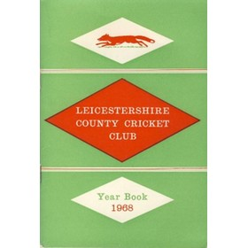 LEICESTERSHIRE COUNTY CRICKET CLUB 1968 YEAR BOOK