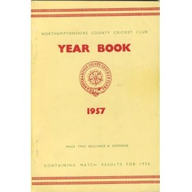 NORTHAMPTONSHIRE COUNTY CRICKET CLUB 1957 YEAR BOOK