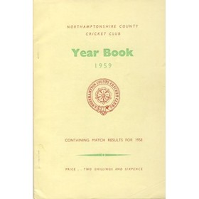 NORTHAMPTONSHIRE COUNTY CRICKET CLUB 1959 YEAR BOOK
