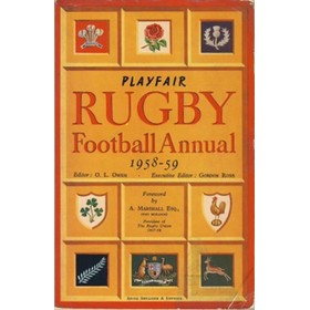 PLAYFAIR RUGBY FOOTBALL ANNUAL 1958-59
