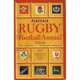 PLAYFAIR RUGBY FOOTBALL ANNUAL 1959-60