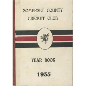 SOMERSET COUNTY CRICKET CLUB YEARBOOK 1935