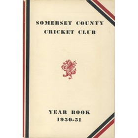 SOMERSET COUNTY CRICKET CLUB YEARBOOK 1950-51
