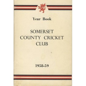SOMERSET COUNTY CRICKET CLUB YEARBOOK 1958-59