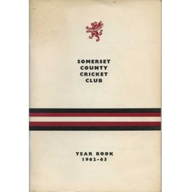 SOMERSET COUNTY CRICKET CLUB YEARBOOK 1962-63