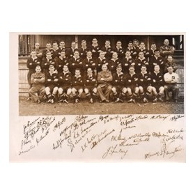 NEW ZEALAND 1945-46 RUGBY PHOTOGRAPH