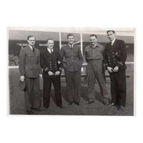 SALE RFC WARTIME INTERNATIONALS (PARSONS, HOLLIS, MYCOCK, DUNKERLEY & DOHERTY)