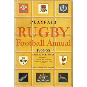 PLAYFAIR RUGBY FOOTBALL ANNUAL 1954-55