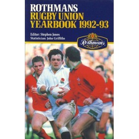 ROTHMANS RUGBY YEARBOOK 1992-93