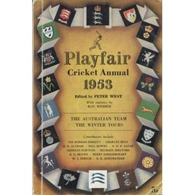 PLAYFAIR CRICKET ANNUAL 1953
