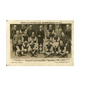 ASTON VILLA 1913 FOOTBALL POSTCARD