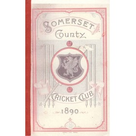 SOMERSET COUNTY CRICKET CLUB 1890 (YEARBOOK)