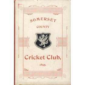 SOMERSET COUNTY CRICKET CLUB 1895-96 (YEARBOOK)