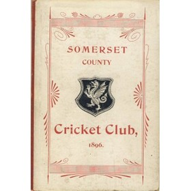 SOMERSET COUNTY CRICKET CLUB 1896-97 (YEARBOOK)