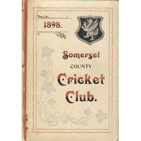 SOMERSET COUNTY CRICKET CLUB 1898-99 (YEARBOOK)