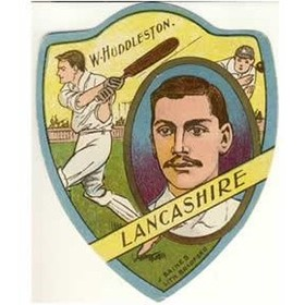 "BAINES ""W. HUDDLESTON - LANCASHIRE"" TRADE CARD"