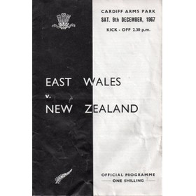 EAST WALES V NEW ZEALAND 1967