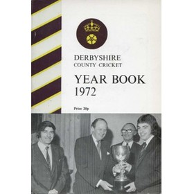 DERBYSHIRE COUNTY CRICKET YEAR BOOK 1972