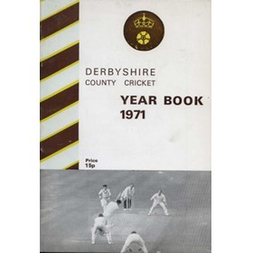 DERBYSHIRE COUNTY CRICKET YEAR BOOK 1971