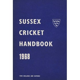 OFFICIAL SUSSEX CRICKET HANDBOOK 1968