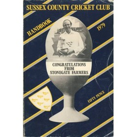 SUSSEX COUNTY CRICKET CLUB HANDBOOK 1979