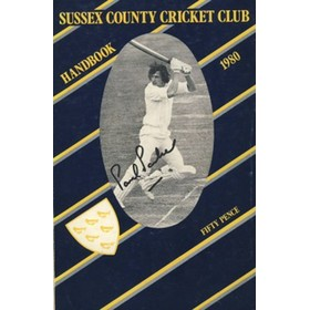 SUSSEX COUNTY CRICKET CLUB HANDBOOK 1980