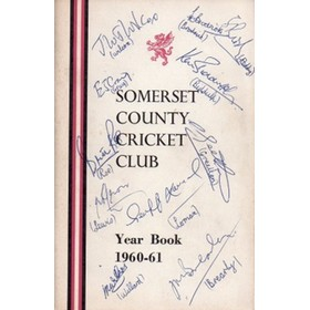 SOMERSET COUNTY CRICKET CLUB YEARBOOK 1960-61