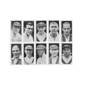 AUSTRALIAN AND ENGLISH TEST CRICKETERS 1930 (MAJOR DRAPKIN & CO.)
