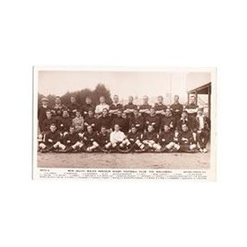 NEW SOUTH WALES (AUSTRALIA) 1908-09 rugby postcard