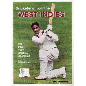 CRICKETERS FROM THE WEST INDIES - THE 1963 TOUR OFFICIAL BROCHURE