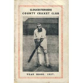 GLOUCESTERSHIRE COUNTY CRICKET CLUB  YEAR BOOK 1937