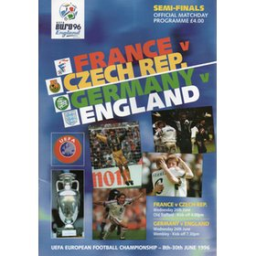 FRANCE V CZECH REPUBLIC & GERMANY V ENGLAND 1996 (EURO 96 SEMI FINALS)