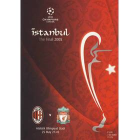 AC MILAN V LIVERPOOL 2005 (CHAMPIONS LEAGUE FINAL) FOOTBALL PROGRAMME