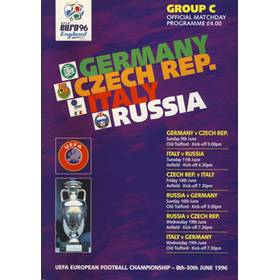 GERMANY V CZECH REPUBLIC & ITALY V RUSSIA 1996 (EURO 96 GROUP C)