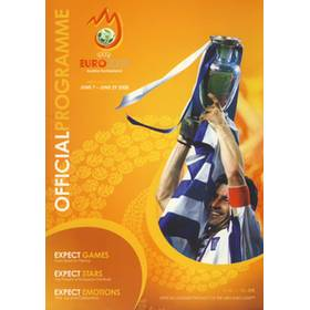 EUROPEAN CHAMPIONSHIPS 2008 (TOURNAMENT BROCHURE)