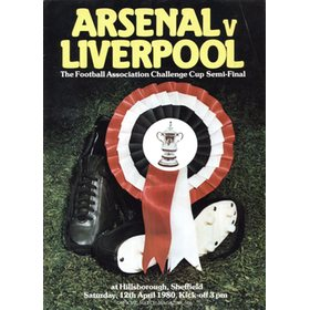 ARSENAL V LIVERPOOL 1980 (F.A. CUP SEMI-FINAL) FOOTBALL PROGRAMME